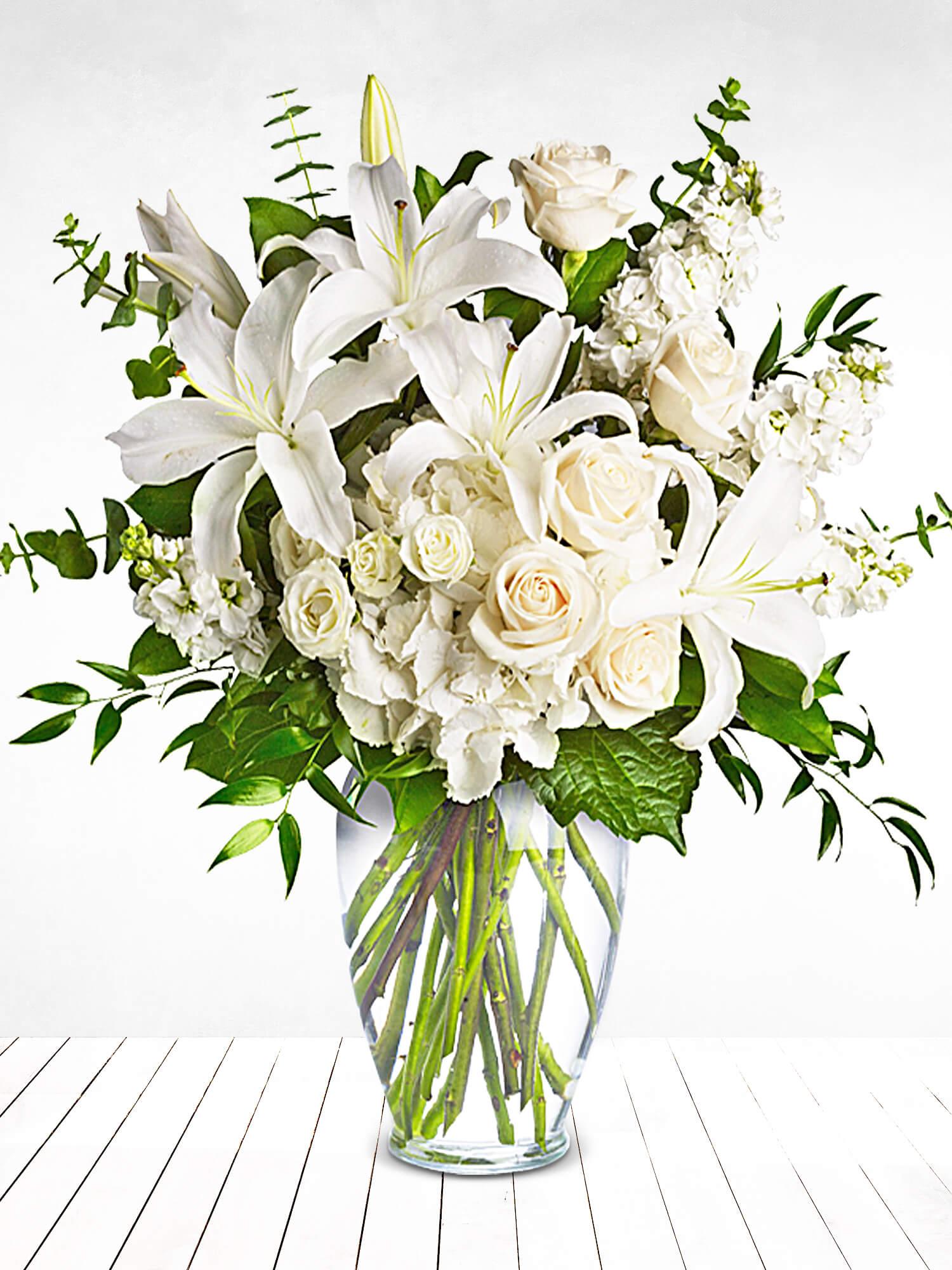 Büyük Zarafet Lilyum ve Güller