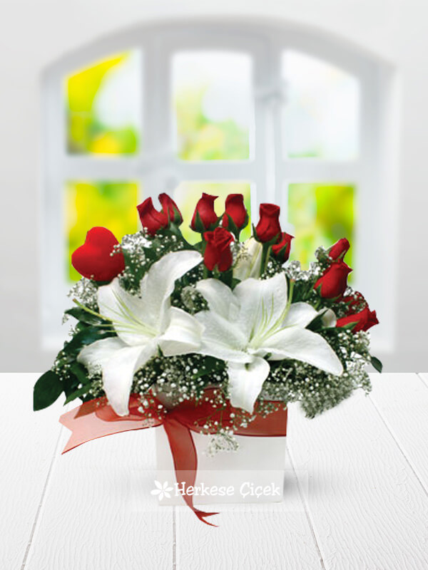 Aşkın Melodisi Güller ve Lilyumlar
